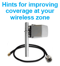 Click here to view some hints for improving coverage at your Zenbu wireless hotspot